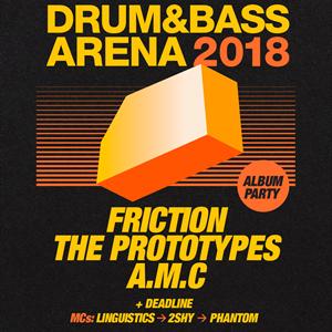 Supercharged & BMC present Drum&Bass Arena 2018