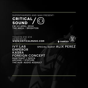 Supercharged x WAH presents Critical Brighton