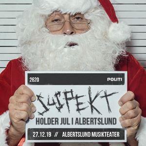 Suspekt Julekoncert + Support: Emil Lange