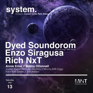 System. pres. Cocoon in the Park Afterparty