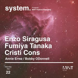 System Presents Mint Fest After Party 1