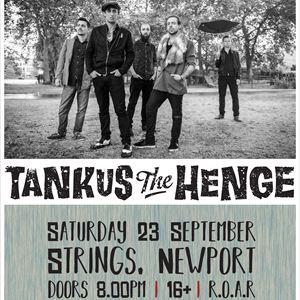 Tankus The Henge Live at Strings Bar & Venue