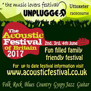 The Acoustic Festival of Britain 2017