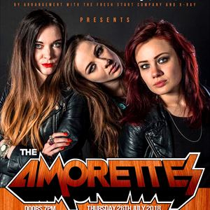 The Amorettes, Tequila Mockingbyrd & Gorilla Riot