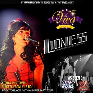 The Amy Winehouse Experience...aka Lioness