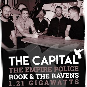 the capital, the empire police, rook & the ravens
