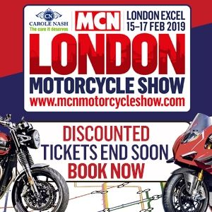 The Carole Nash MCN London Motorcycle Show
