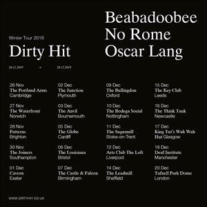 Dirty Hit Tour - Beabadoobee + No Rome