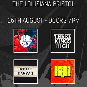 The DLX, Three Kings High,White Canvas,Heavy Sugar