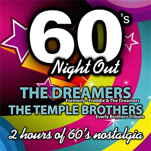 The Dreamers & The Temple Brothers 60's Package