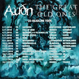 THE GREAT OLD ONES & AUDN - GLASGOW