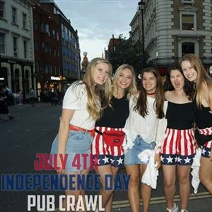 The Independence Day Pub Crawl 2019