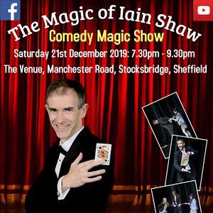 The Magic of Iain Shaw - Comedy Cabaret Magic Show