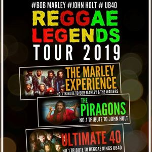 The Marley Experience + The Piragons + Ultimate 40