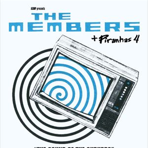 "THE MEMBERS ""The Sound of the Suburbs"""