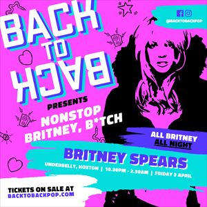 The Nonstop Britney Spears club night