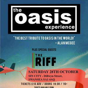 THE OASIS EXPERIENCE plus The Riff