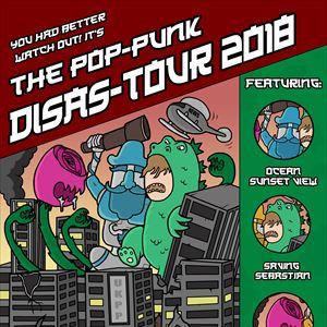 The Pop-Punk Disas-Tour 2018.