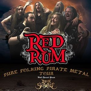 Red Rum, Iron SeaWolf + Support @ The Gryphon