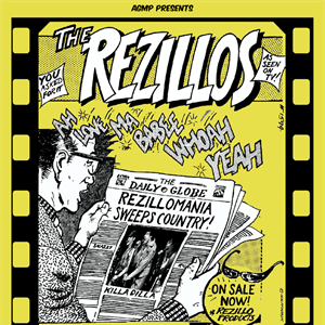 THE REZILLOS 'Rezillomania' Tour