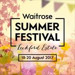 The Waitrose Summer Festival
