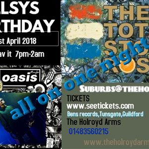 TOTAL STONE ROSES/OASIS MAYBE