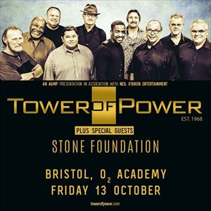 TOWER OF POWER + Stone Foundation
