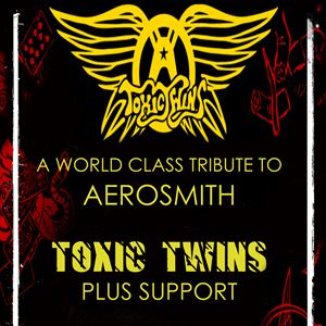 Toxic Twins Tribute To Aerosmith plus Support