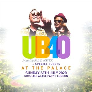 UB40 At The Palace + Special Guests
