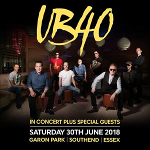 UB40  IN CONCERT PLUS SPECIAL GUESTS