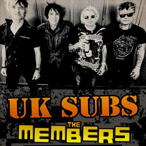 UK Subs + The Members