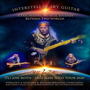 Uli Jon Roth one man solo tour at the station