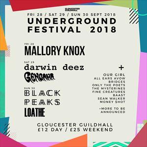 Underground Festival Sunday