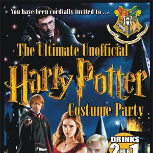 Unofficial Harry Potter Costume Party