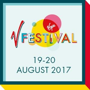Virgin V Festival 2017 - Weekend & Camping Red