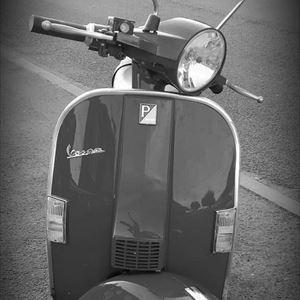 Vespa PX 125 scooter raffle Hartlepool MOTM