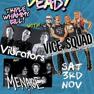 Vice Squad + The Vibrators + Menace