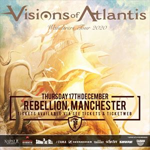 Visions Of Atlantis - Manchester.