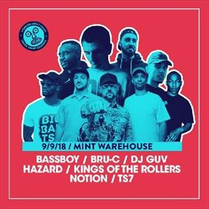 WAH - Hazard/Notion/Kings Of The Rollers/Guv+more