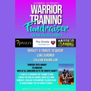 Warrior Training Fundraiser
