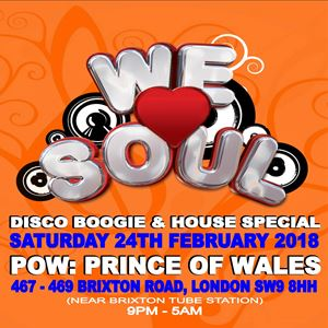 We Love Soul Disco Boogie & House Special