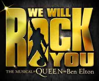 We Will Rock You Half Price Offer