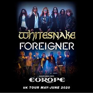 Whitesnake, Foreigner + Europe