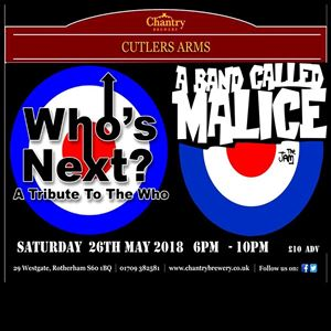 WHO'S NEXT V A BAND CALLED MALICE