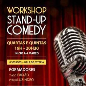 WORKSHOP INICIAÇÃO - STAND UP COMEDY