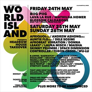 World Island Presents: Dele Sosimi + More