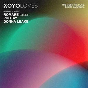 XOYO Loves: Romare (DJ set) + Photay + Donna Leake