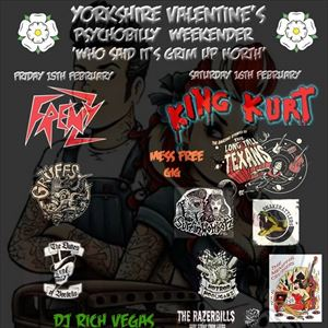 Yorkshire Valentines' PSYCHOBILLY Weekend