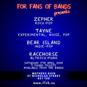 Zepher, Tayne, Racehorse, Bear Island
