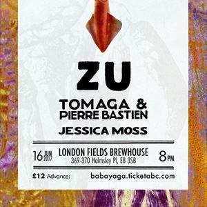 Zu, Pierre Bastien & Tomaga + Jessica Moss